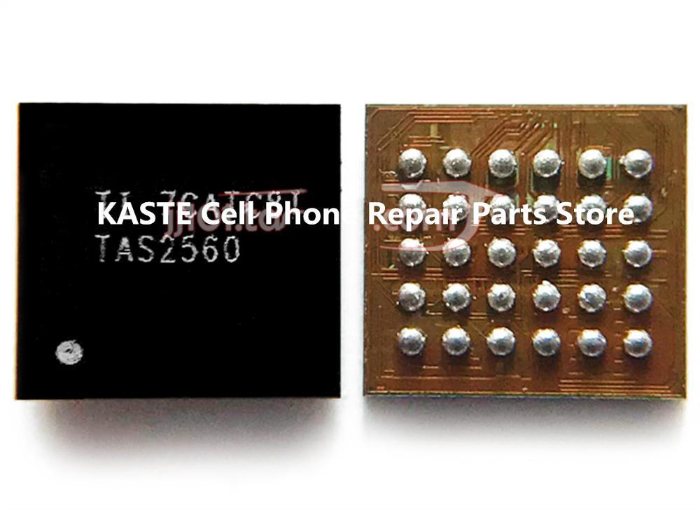 5 pces 2560 tas2560 para xiaom mxa2/redmi 5plus áudio ic som codec chip