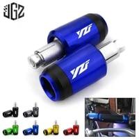 22mm motorcycle cnc handlebar grips plug bar ends balance sliders for yamaha yzf r1 r3 r15 r25 r125 r6 2013 2020 accessories