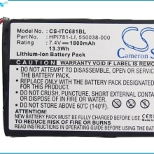 Cameron Sino 1800mAh Battery 550038-000, HPI781-LI for Intermec 681, 781, 782T
