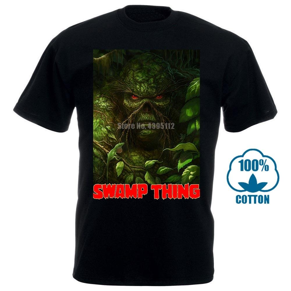 Swamp Thing Louis Jourdan Ray Wise Poster Man Hardcore Tshirt Lgbt T-Shirt Machete Tshirts Motorcyclist T-Shirts  Zjttvg