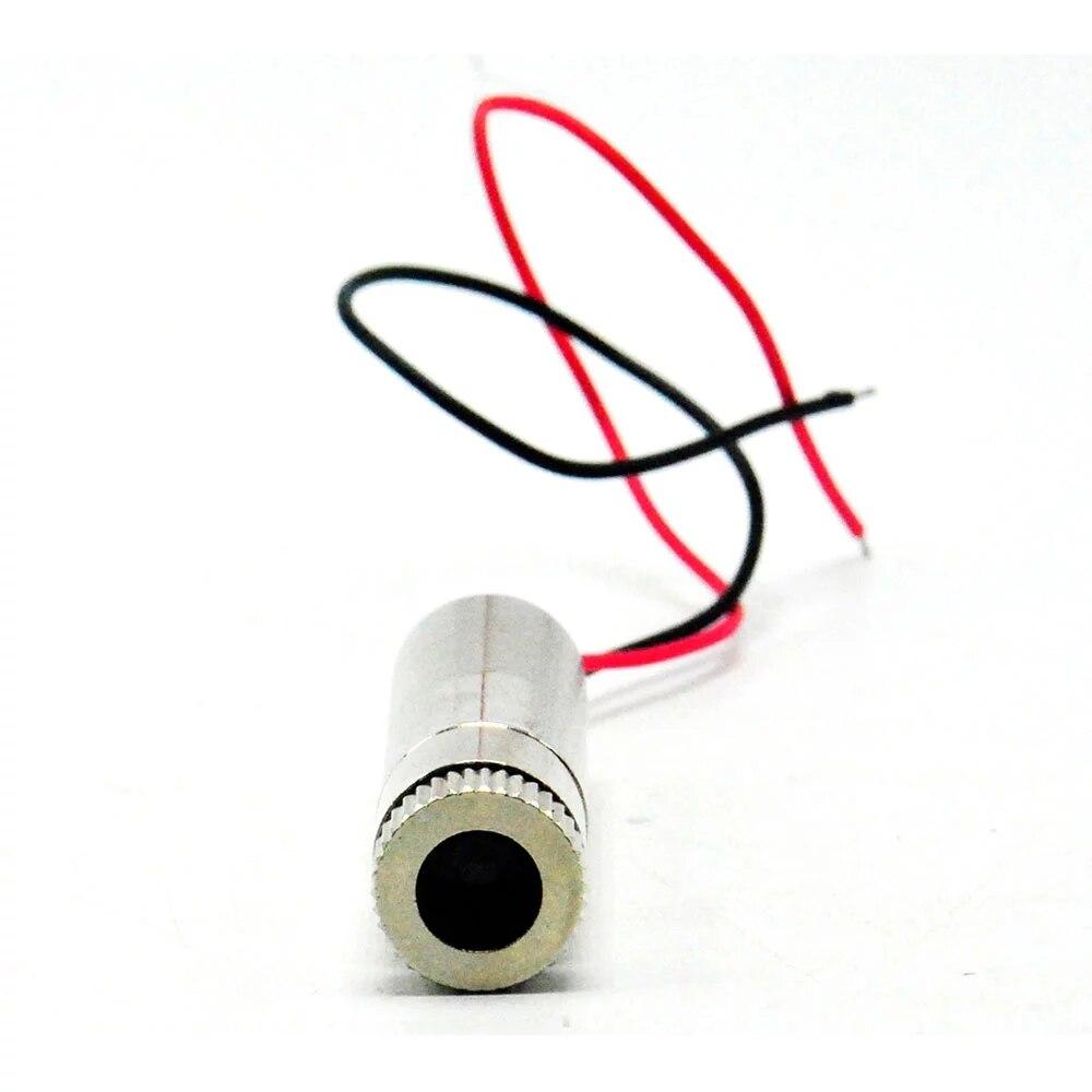 5 шт. Фокусируемый 650 нм 5 мВт красный лазер точка% 2FLine% 2FCross модуль 12x35 мм