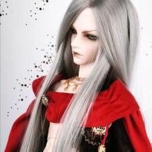 Bybrana 1/3 1/4 1/6 1/8 BJD Wigs Long Straight hair High Temperature Fiber for Dolls Free Shipping