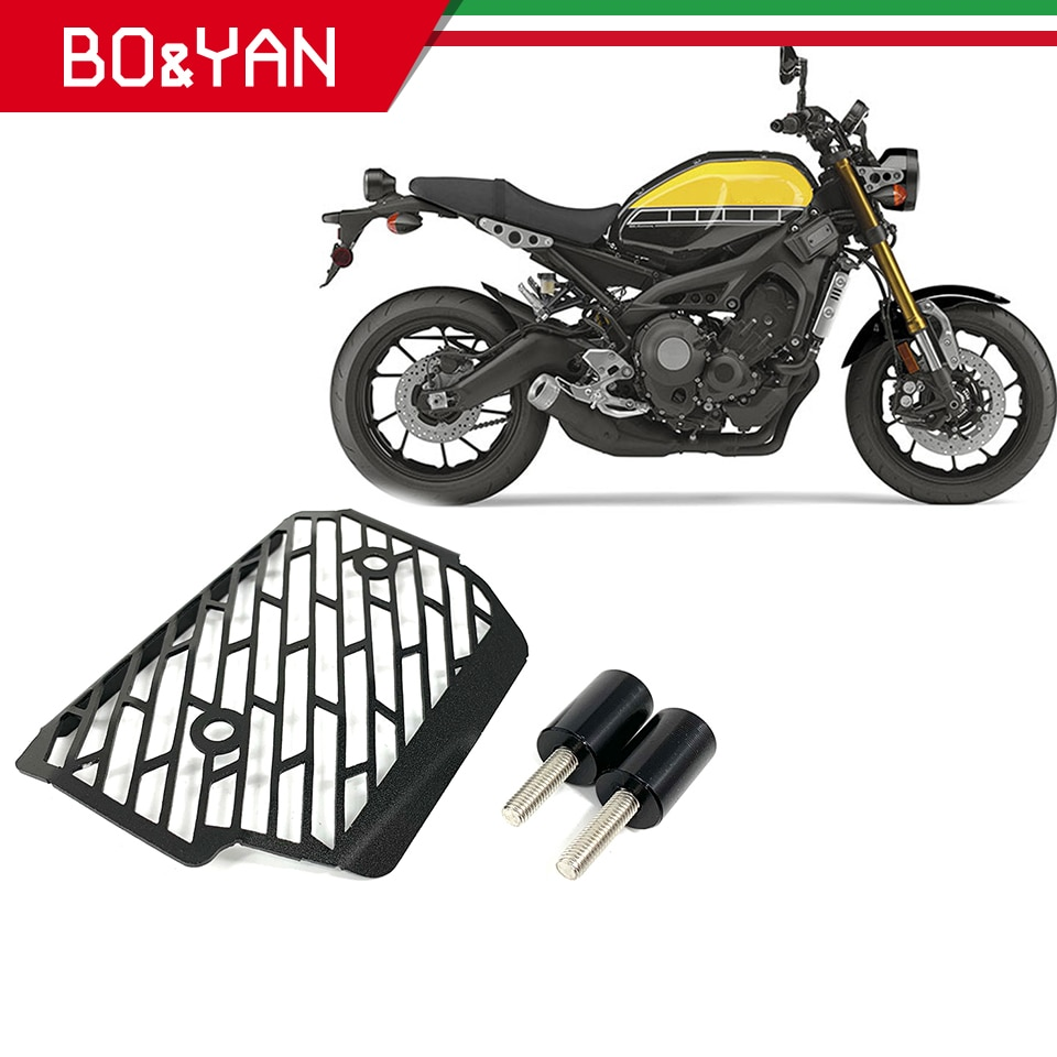 Para Yamaha XSR 900 XSR900 2016 2017 2018 accesorios de motocicleta CNC cubierta protectora del rectificador de aluminio