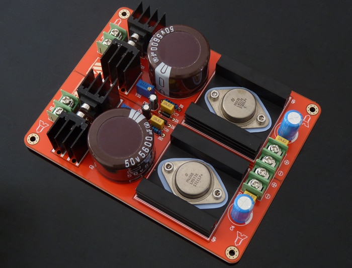 مجموعتين من LM317K عالية الحالي قابل للتعديل الجهد استقرت البصرية محرك امدادات الطاقة مجلس WZ-62 أنبوب مصباح خيوط الطاقة سو