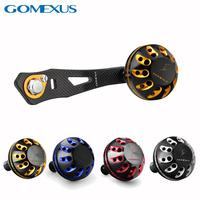 Gomexus Baitcasting Reel Handle 75mm For Shimano Daiwa Abu Garcia Doyo Use Ultra Light Carbon Handle