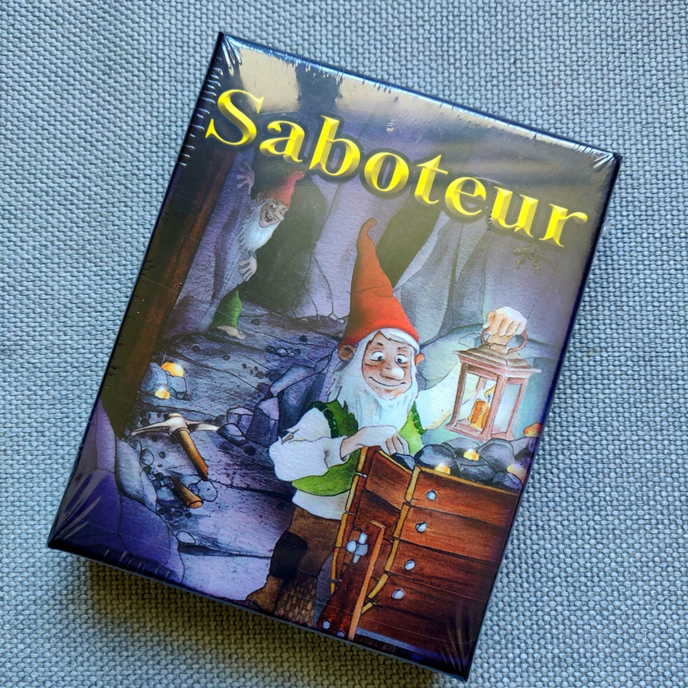 NEW Saboteur 1 2 Edition Core Basis Card Game English Version