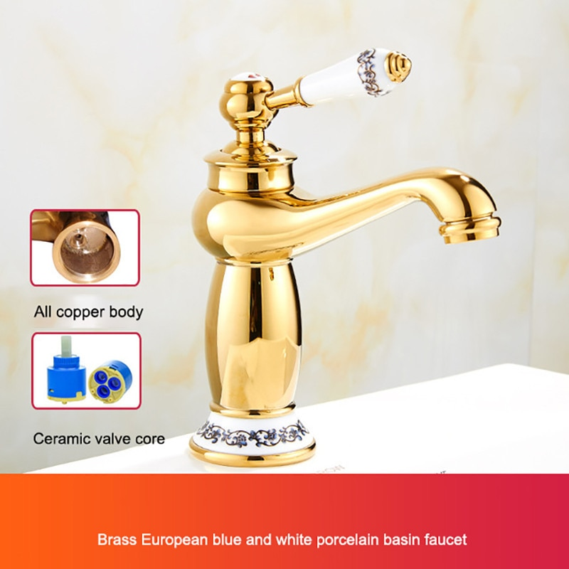 Золотистые краны поворотный туалет душевая комната кухонные краны раковины вращающийся кран одно отверстие ручка Поворотный Смеситель
