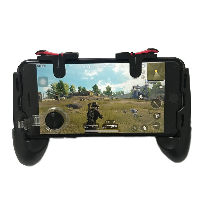 PUBG Moible Controller Gamepad Free Fire L1 R1 Triggers PUGB Mobile Game Pad Grip L1R1 Joystick for