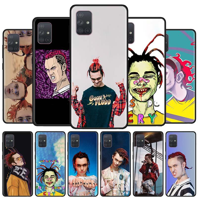 Ido Flood rapero caso de teléfono para Samsung Galaxy A51 A71 5G A50 A70 A01 A21s A11 A31 A41 A91 un Quantan suave cubierta de los casos