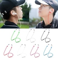 does not damage the skin earphone strap for airpods tws anti lost strap silicone rope for bluetooth compatible earphones cable