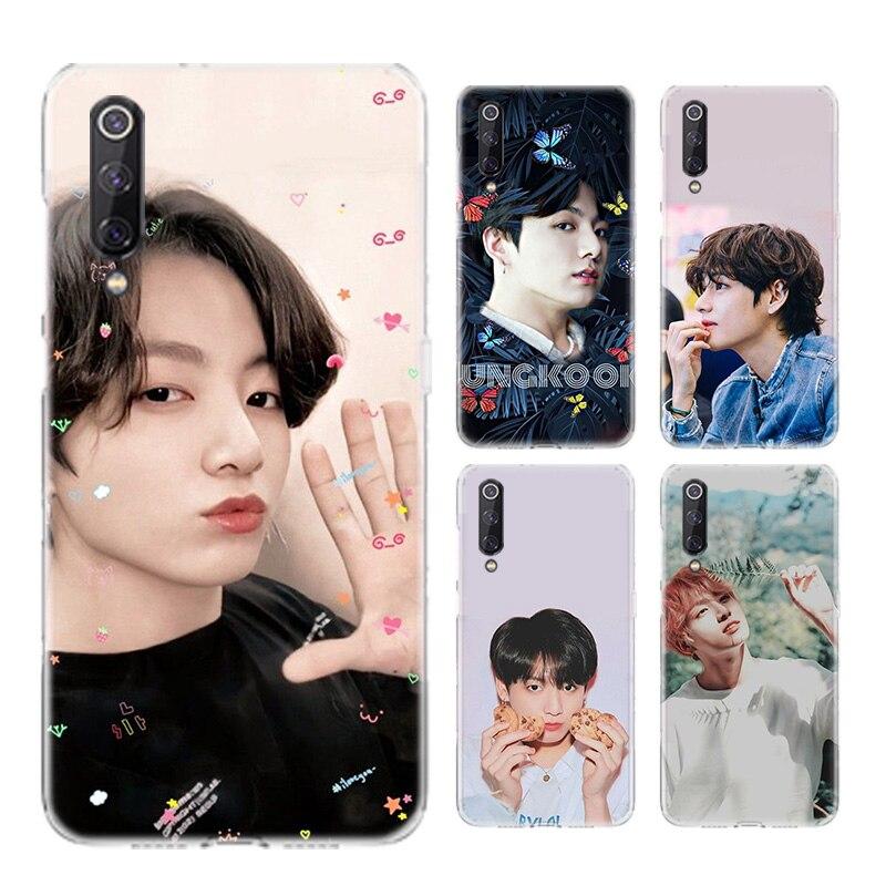 Jung Kook Kpop Boys Silicone Case For Xiaomi Note 10 9 8 lite A3 5X 6X CC9 CC9E 9SE 8SE 9T F1 Bags C