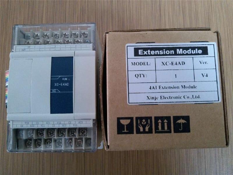XC-E8AD-H XC-E4AD-H XC-E2AD-H XINJE XC سلسلة PLC التناظرية وحدة جديد في مربع
