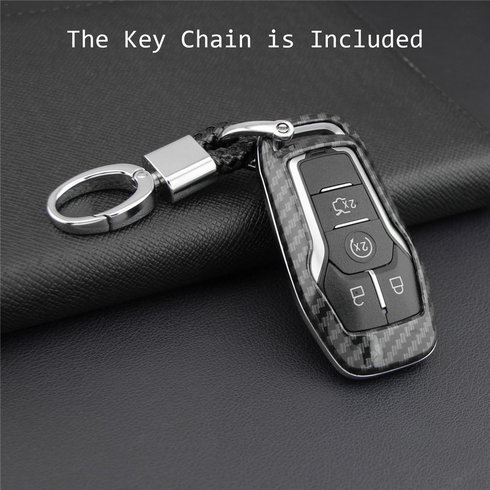 Чехол для ключей Fob, держатель для сумки, АБС-пластик, Жесткий Чехол, запчасти для Ford Mondeo Mustang Edge Explorer F150, чехол для ключей