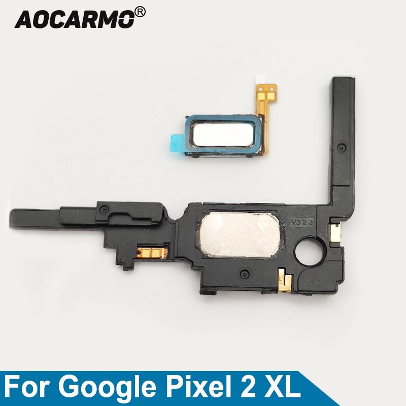 Aocarmo-auricular de altavoz superior e inferior, altavoz, timbre vibrador, Cable flexible para...