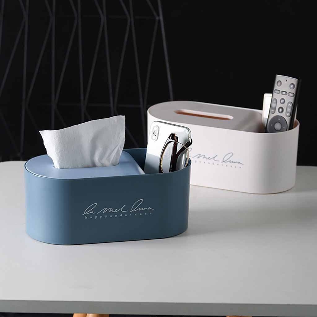 Креативная коробка для салфеток, Домашний Органайзер для автомобильных столов, держатель с дистанционным управлением, косметическая коробка для хранения косметики, бумажный контейнер для салфеток