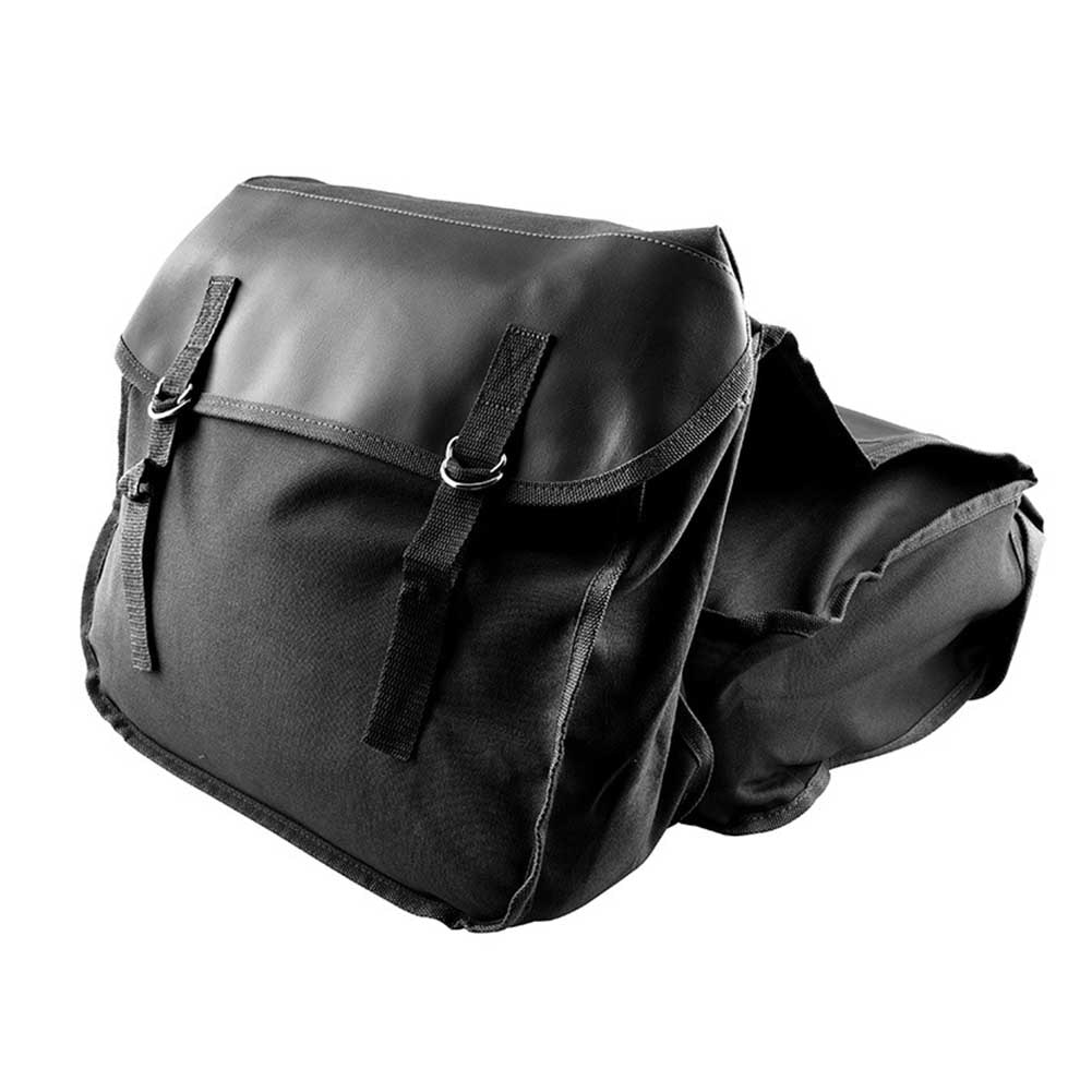 Bolsa de sillín para montar en bicicleta, cartera para asiento trasero, gran capacidad, almacenamiento de herramientas a la moda de Caballero, accesorios para motociclistas