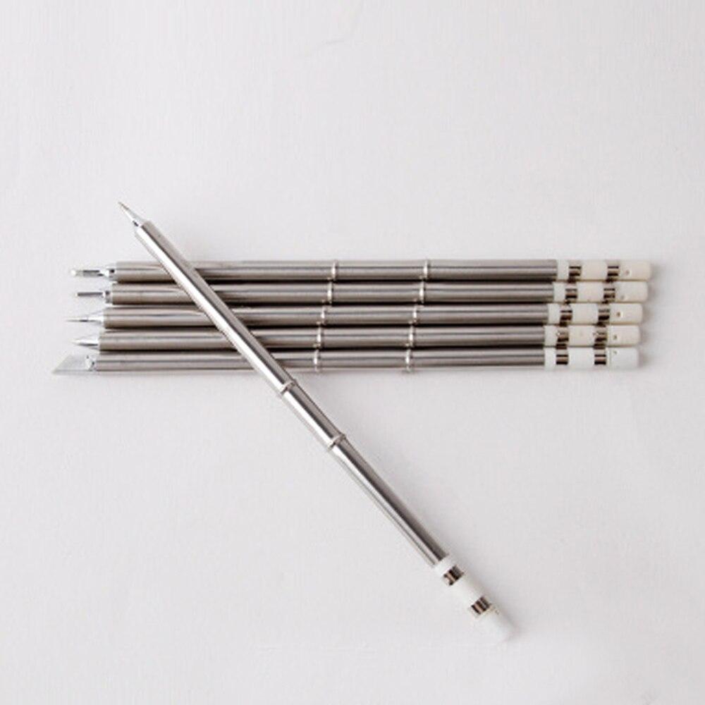 T13 punta de hierro de soldadura de alta calidad varios modelos punta de hierro de soldadura resistente sin plomo adecuada para soldadura de BAKON 950D de hierro