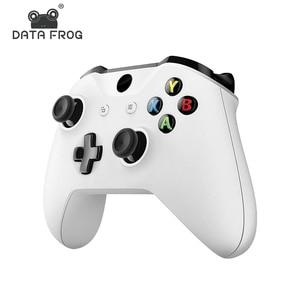 Data Frog беспроводной Bluetooth геймпад для Xbox One тонкий контроллер виброручка для Мобильный телефон джойстик для ПК Win7/8/10