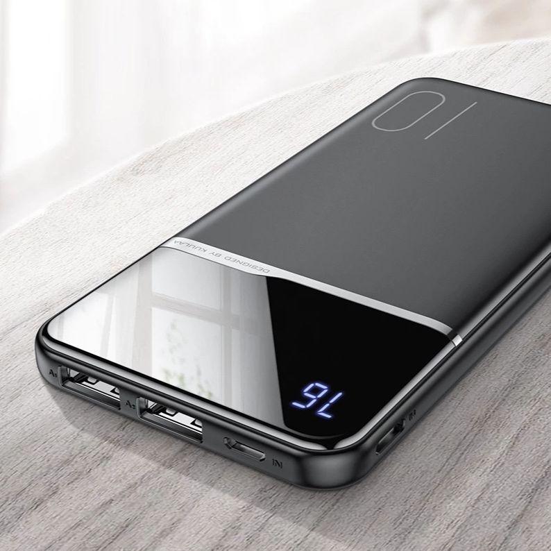 خازن الطاقة 10000 mAh المحمولة شحن PowerBank 10000 mAh USB PoverBank بطارية خارجية شاحن ل شاومي Mi 9 8 آيفون