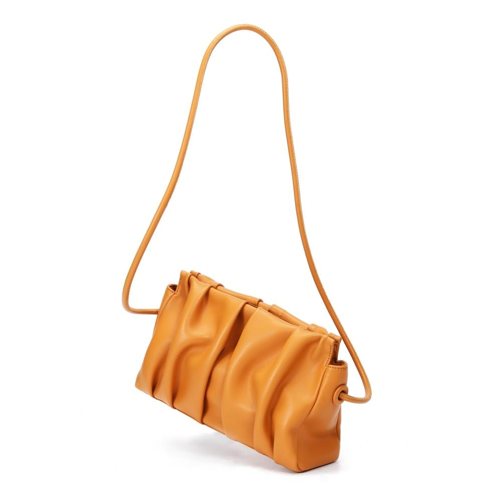 2021 neue Echtem Leder Wolke Tasche Mode Frauen Handtasche Handtaschen Frauen Taschen Designer