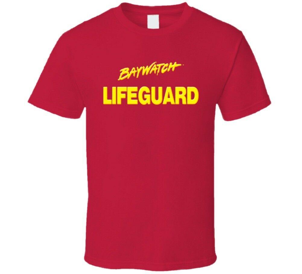 Baywatch Lifeguard Tv Show camiseta de alta calidad 2019 nueva marca de hombre