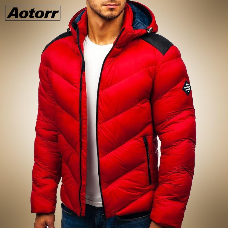 2020 impermeable invierno Parka hombres chaqueta con capucha hombre cálido abrigo de invierno para hombres Cremallera gruesa chaqueta cortavientos sólido prendas de vestir de talla grande