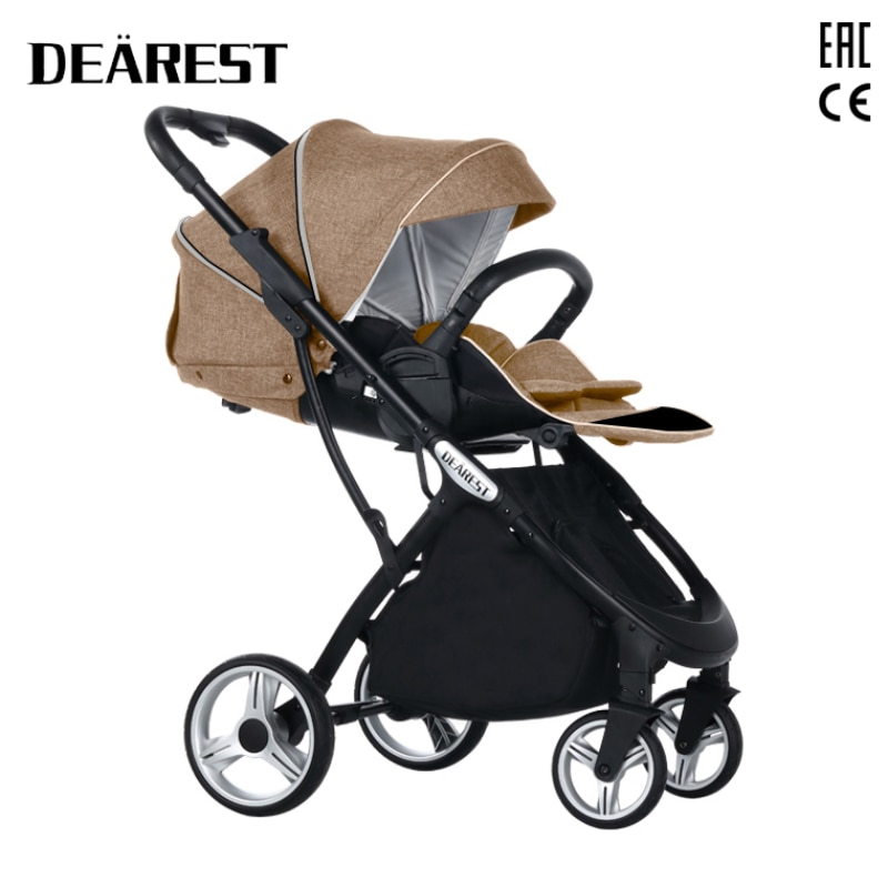 2021 New Baby Stroller High Seat High Landscape Two - Way Seat Dearest 1108 Four Seasons Free Shipping In Russia enlarge