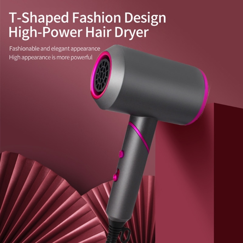 Professional Hair Dryer Strong Wind Salon Dryer Hot Air Brush&Cold Air Wind enlarge