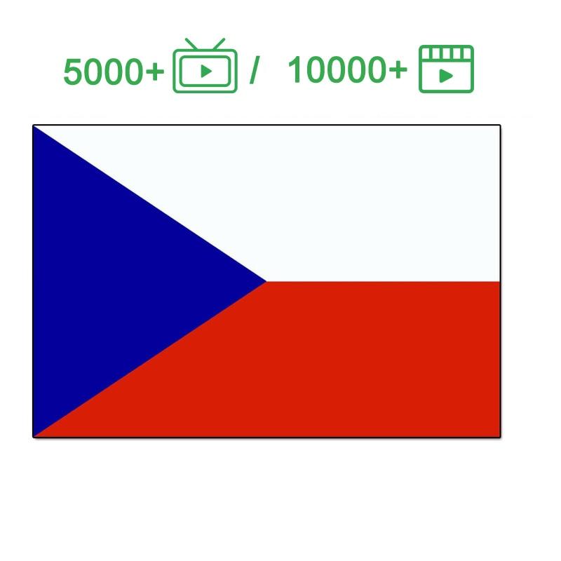 Checa IPTV Europa, Francia, España, Italia, Portugal TV Abonnement 10000 + para Android caja m3u Smart TV