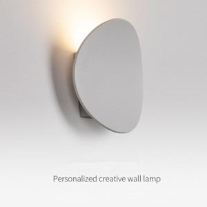 LED Wall Lamp Modern Indoor Lighting Fixture Minimalist Sconce Bedroom Bedside Living Room Hallway Stair Home Decor светильник