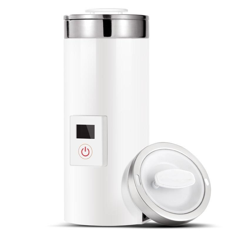 Hervidor eléctrico de 0,5 l con aislamiento térmico, botella de agua caliente, Mini caldera de café, olla de viaje portátil de olla lenta, taza de té