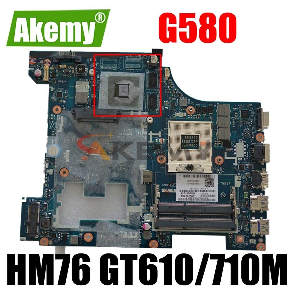 90001506 LA-7988P LA-7981P اللوحة لينوفو G580 اللوحة المحمول مع HM76 GT610/710M 1GB فيديو بطاقة 100% اختبار بالكامل