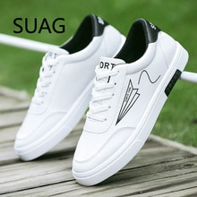 High Quality Men's Leather Casual Sneakers Comfortable Man Shoes Unisex Outdoor Walking Shoe Male Sh
