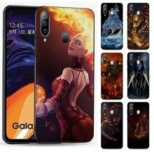 Coque en Silicone pour Samsung Galaxy S6 S7 S8 S9 S10 Edge Plus Note 8 9 10 Plus housse Dota 2