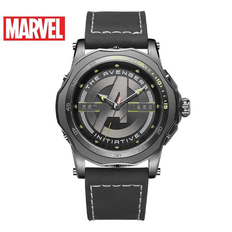 Disney 2021 Alliance Headquarters Marvel Men's Watch Casual Trend Sports Personality Men's Watch