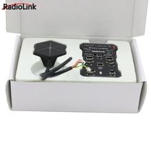 Contrôleur de vol Radiolink Pixhawk PIX APM avec M8N GPS Buzzer 4G Module de télémétrie de carte SD pour Drone RC
