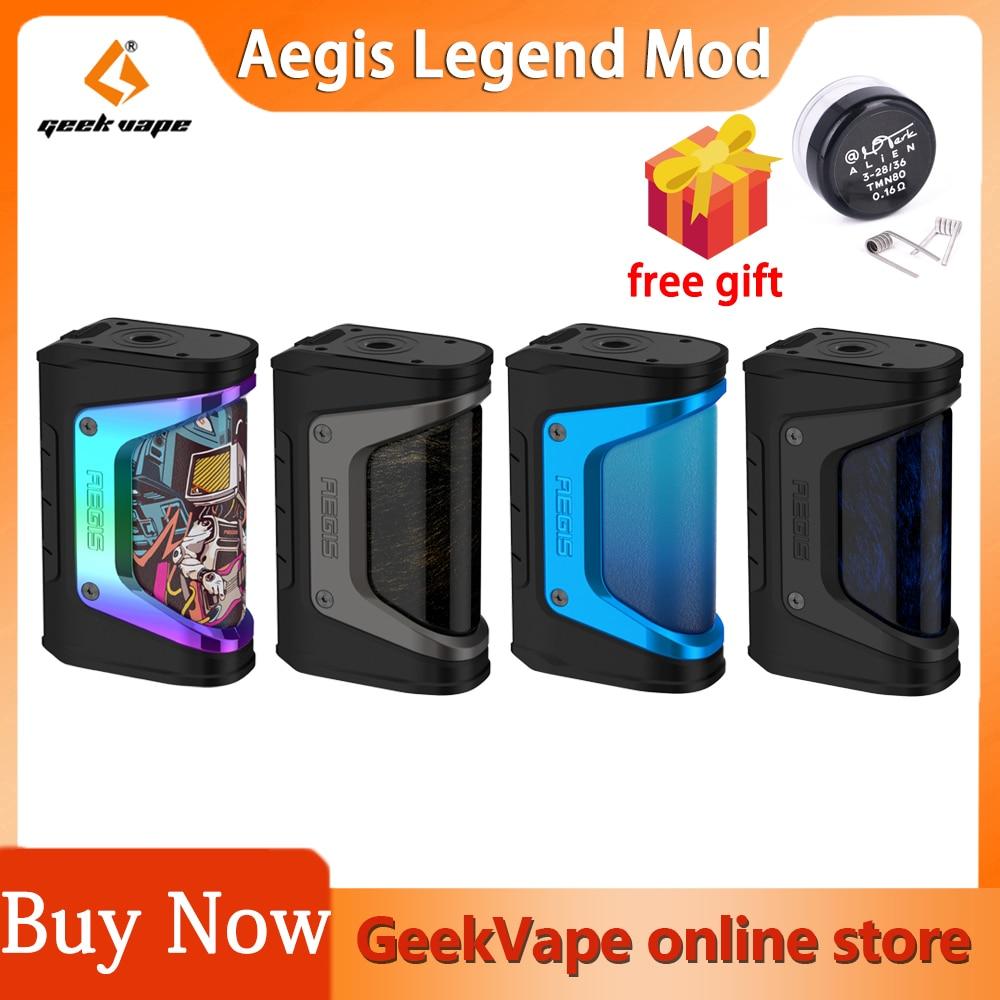 New Color Geekvape Aegis Legend 200W Box MOD Vape Support Aero Mesh sub ohm Tank RTA RDA RFTA RBA El