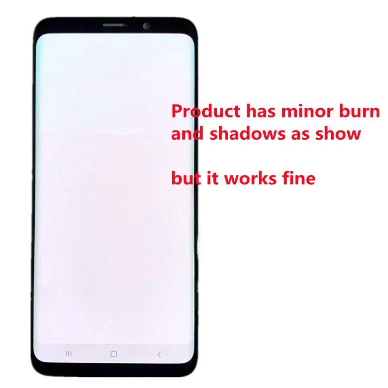 Original AMOLED For SAMSUNG Galaxy S9 Plus G965 Display S9 G960 LCD Display Touch Screen Digitizer Repair Parts Minor Burn enlarge