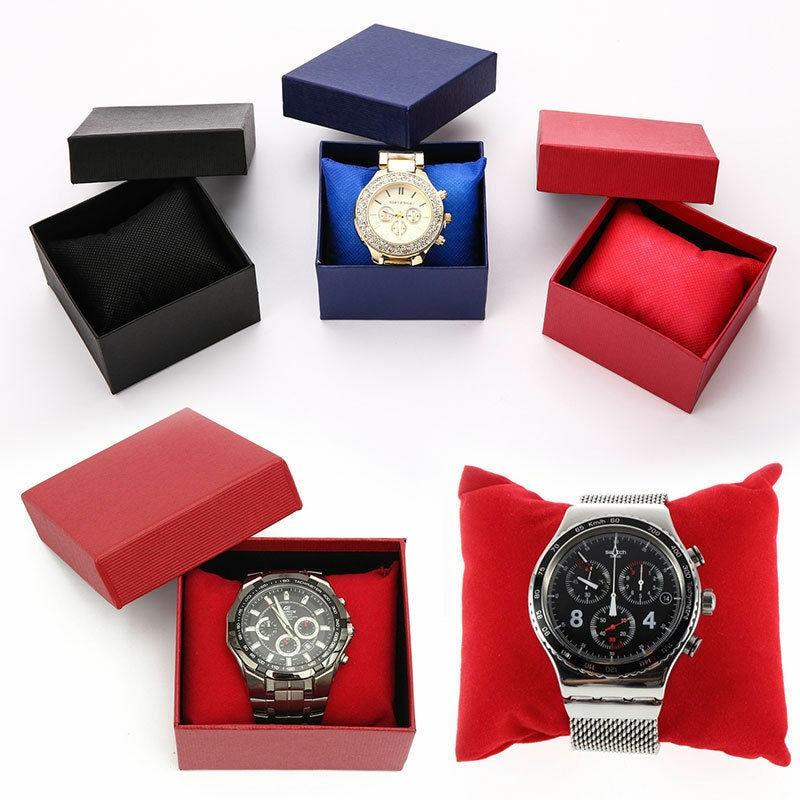 Watch Box Jewelry Holder Display Storage Box Organizer Present Gift Box Case for Bracelet Bangle Ear