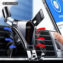 Jellico gravité voiture support de téléphone évent pince de montage support de téléphone portable dans la voiture pour iPhone Samsung voiture support de téléphone portable