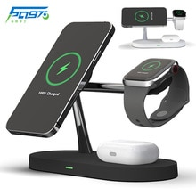 3 in 1 Wireless Charger Stand Magnetic 15W Fast Charging Station for Magsafe iphone 12 pro max mini