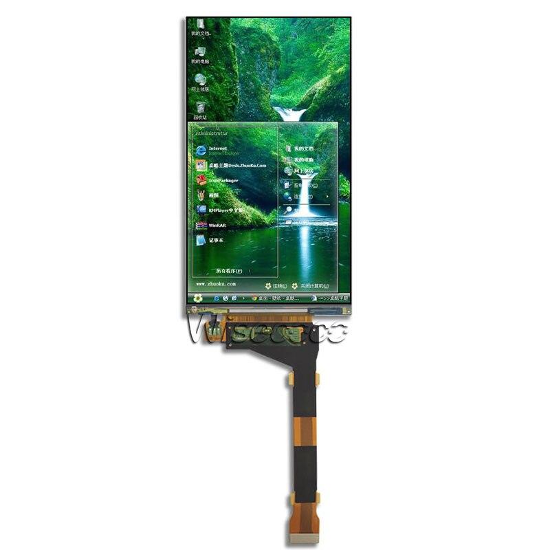 Wisecoco LS055R1SX04 fotón pantalla lcd para wanhao d7 NanoDLP Thingiverse TOS panel lcd de 5,5 pulgadas 2560*1440 pantalla 2K panel