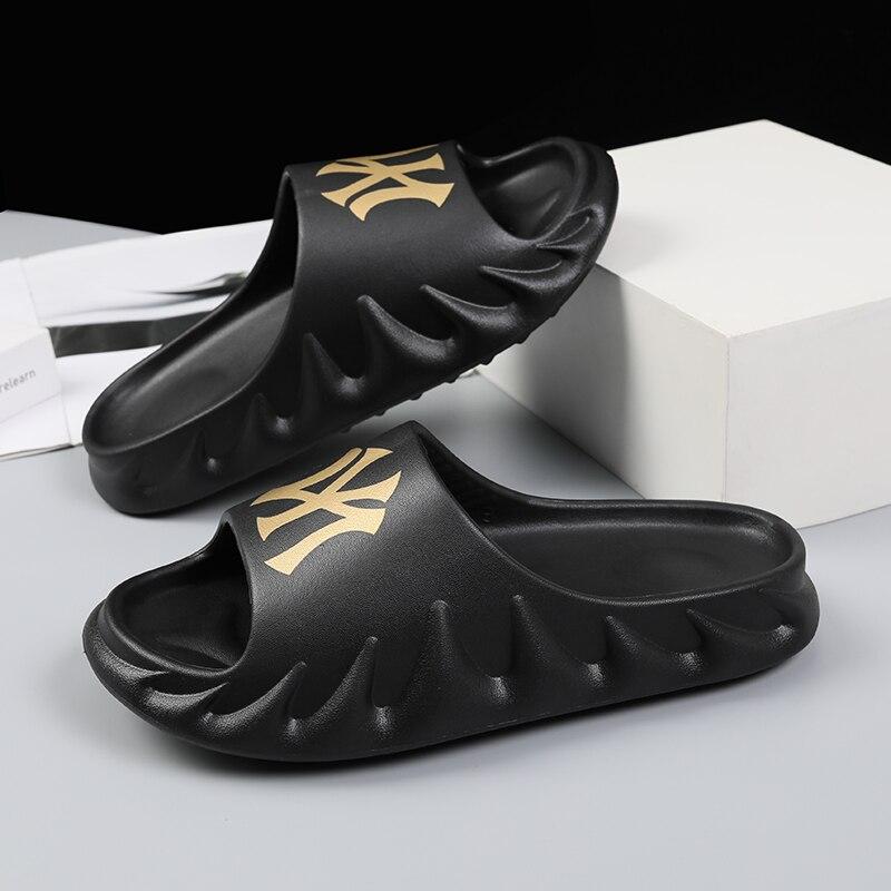2021 جديد الصيف أحذية رجالي الصنادل إيفا المرأة النعال أحذية السيدات زوجين الوجه يتخبط chausiras فام حذاء كاجوال حذاء رجالي