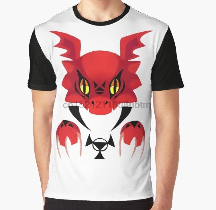 Todo impreso 3D mujeres T Shirt hombres divertida camiseta Bad Guilmon gráfico camiseta