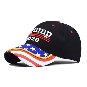 High quality custom hats 2020 print camouflage baseball cap trump hat embroidery caps outdoor hat free shipping