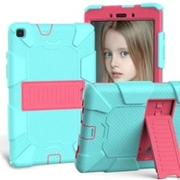 kids tablet cover for samsung galaxy tab a 8 0 2019 sm t290 sm t295 tablet cases kids safe pc hybrid stand full body cover