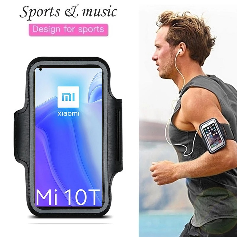 Gym Sport Phone Case Running Arm band for Xiaomi Mi 10T Note 10 Lite Ultra 9T Pro Redmi Note 9s 9 8