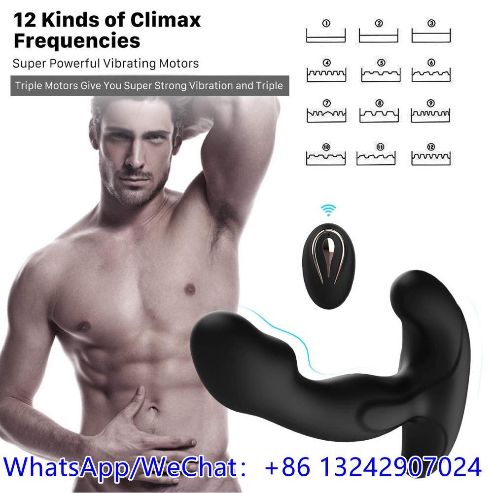 Массажер простаты, вибраторы, имитатор искусственной вагины, стимулятор простаты, секс-игрушки для мужчин, игрушки для геев, Анальные игруш...