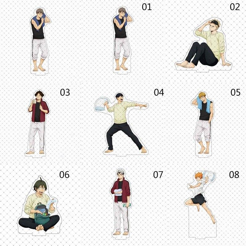 ¡1pc Anime tee! Figuras Placa de escritorio modelos Anime soporte acrílico juguetes de entrenamiento Camping acción Decoración