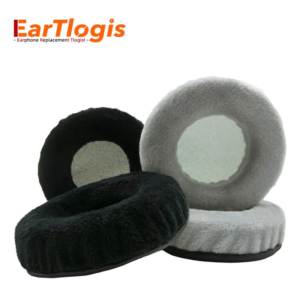 Almohadillas de repuesto de terciopelo EarTlogis para aurears Plattan ADV, piezas de auriculares inalámbricos, funda de orejera, cojín de tazas